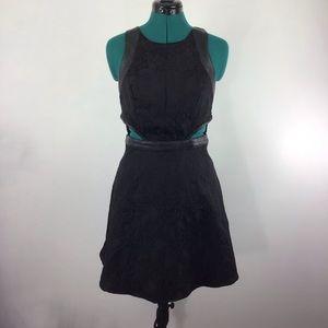 Silence+Noise Black Mini Dress 4